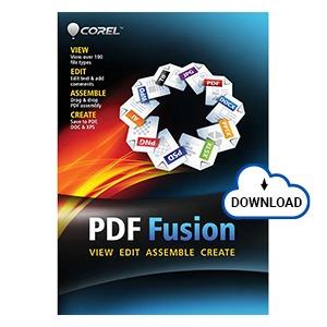 Buy Corel PDF Fusion Online