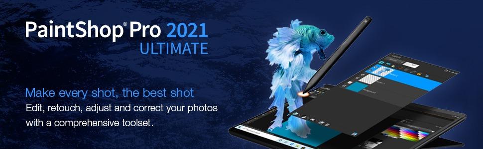 Corel Paintshop Pro 2021 Ultimate image 1