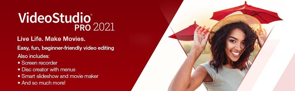 Buy Corel VideoStudio 2021 Online (Annual License)
