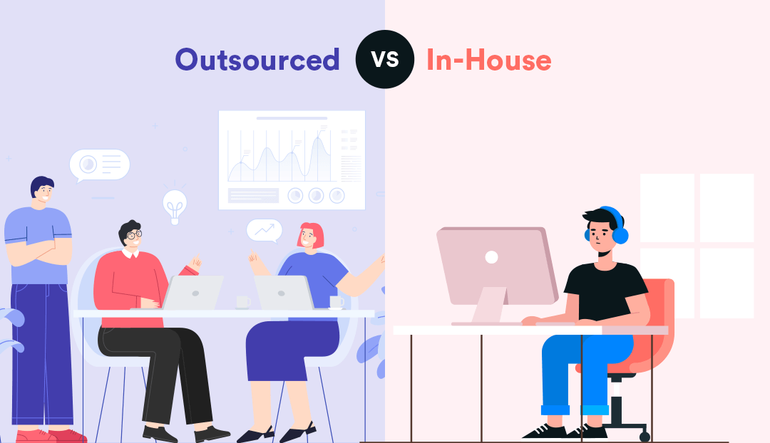 5 Major Benefits of Outsourced vs. Inhouse IT Support